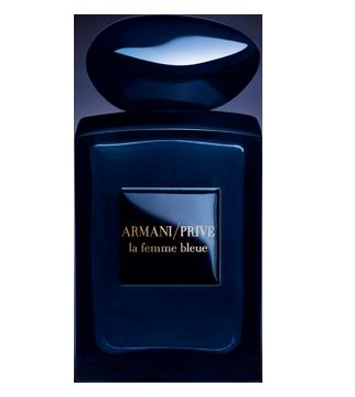 armani prive la femme bleue