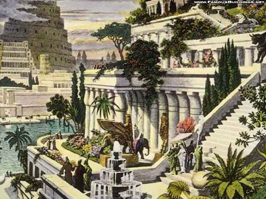 Undeserving review nabucco amytis parfum fin - What are the hanging gardens of babylon ...