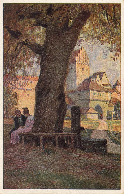 Paul Hey Brunnen, Ansichtskarte