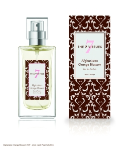 Afghanistan Orange Blossom Eau de Parfum A sweet and sunny harmony of neroli, jasmine, and freesia.