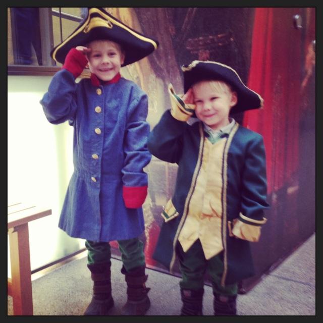 The Boys salute you!