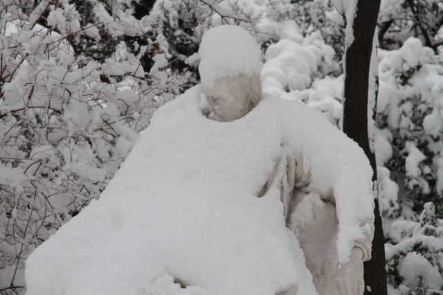 Snow statue how I feel