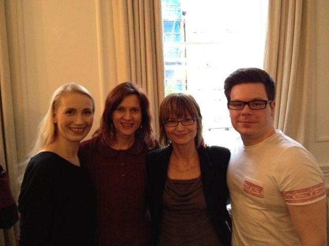 Birgit, Tara, Vanessa and Thomas