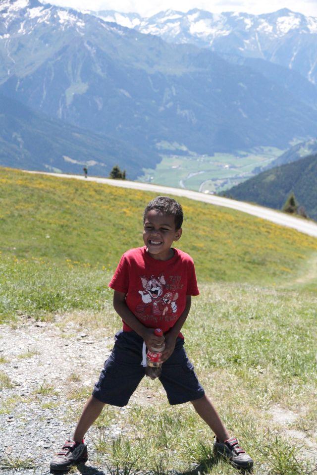 Sean on mountain