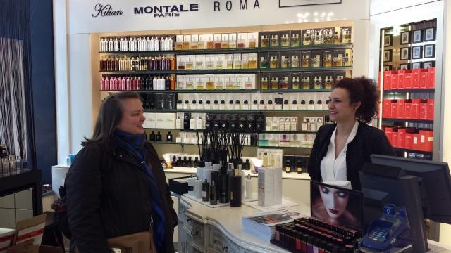 Sandra and SA at Le Parfum